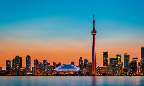 Visit the CN Tower in Toronto, Canada