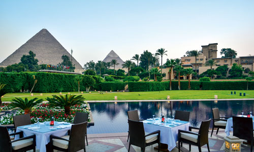 Marriott Mena House Hotel, Giza, Egypt