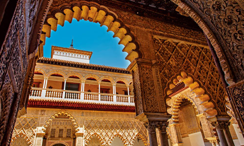 Real Alcázar Palace, Seville, Spain