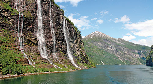 norwegian waterfalls