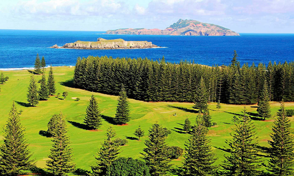 Enjoy a round of golf on Norfolk Island, Scenic Freechoice