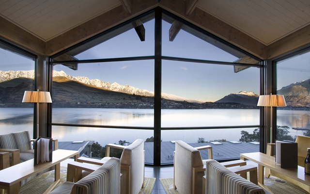 The Rees Hotel, Queenstown, New Zealand