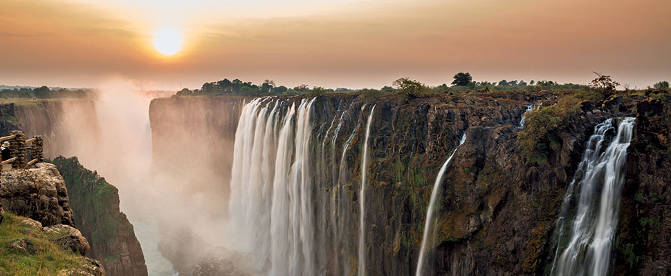 Victoria Falls Discovery by David Livingstone