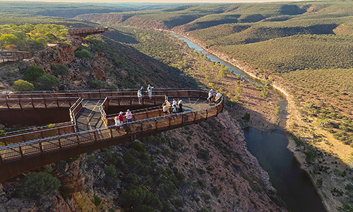 Kalbarri Skywalk - Image Credit Department of Biodiversity, Conservation and Attractions