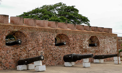 Visit Port Royal Fort whilst cruising the Caribbean