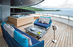 Scenic Eclipse Owners Penthouse Deck