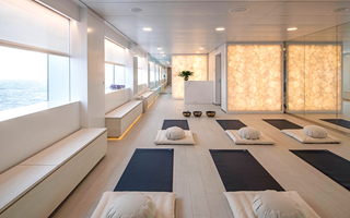 Enjoy a yoga and Pilates class on board Scenic Eclipse